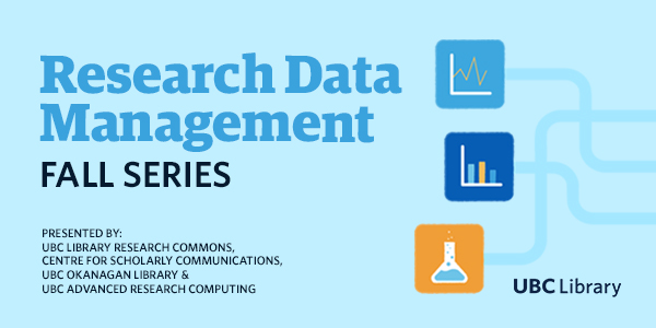 Research Data Management Fall Series